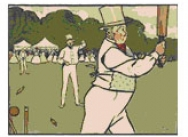 Old English Sports & Games - Cricket