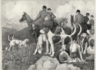 Foxhunting Scenes - Plate 3