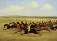 The 1850 Cambridgeshire Stakes: The Start
