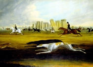 The Pickney Family Coursing at Stonehenge