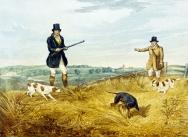 Partridge Shooting 1835, Plate 1