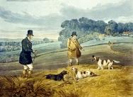 Partridge Shooting 1835, Plate 3