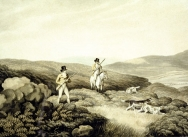 Grouse Shooting from Ormes Collection of British Field Sports, 1807