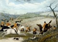 The Grand Leicestershire Foxhunt - Plate 1