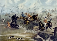 The Grand Leicestershire Foxhunt - Plate 3