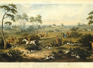 Foxhunting, 1817 - Plate 1
