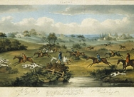 Foxhunting, 1817 - Plate 2