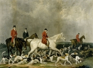 The Earl of Derby's Stag Hounds