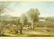 A Pair of Views in Hatfield Park: Coursing- a View in Hatfield Park