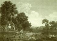 Two Gentlemen Going A Shooting