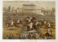 The Royal Birthday Stakes, Worcester, March 14, 1856: Grand Stand- Made Brook