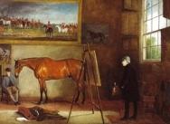 Portrait of J. Ferneley Snr. in his Studio